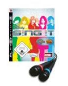 Disney Sing it (inkl. zwei Mikrophone) PS3 Cover