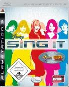 Disney Sing it PS3 Cover