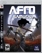 Afro Samurai PS3 Cover