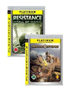 MotorStorm / Resistance: Fall of Man - Platinum Double Pack PS3 Cover