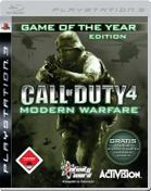Call of Duty 4: Modern Warfare - Game of the Year Edition  PS3 Cover
