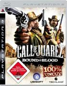 Call of Juarez 2: Bound in Blood PS3 Cover