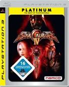 Soul Calibur 4: Platinum PS3 Cover