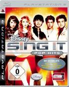Disney Sing It: Pop Hits PS3 Cover
