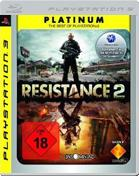 Resistance 2: Platinum PS3 Cover