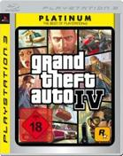 Grand Theft Auto IV: Platinum PS3 Cover