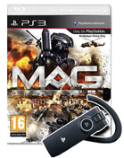 MAG: Massive Action Game inkl. Bluetooth Headset PS3 Cover
