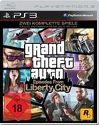 Grand Theft Auto: Episodes from Liberty City PS3 Cover