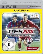 Pro Evolution Soccer 2010: Platinum PS3 Cover