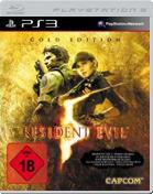 Resident Evil 5: Gold Move Edition PS3 Cover