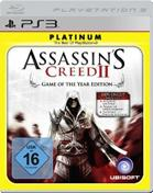 Assassins Creed 2: Game of the Year Edition - Platinum PS3 Cover
