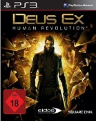 Deus Ex 3: Human Revolution PS3 Cover