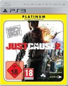 Just Cause 2: Platinum PS3 Cover