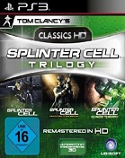 Splinter Cell: Trilogy HD PS3 Cover