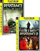 Resistance / Resistance: Fall of Man - Platinum Double Pack PS3 Cover