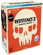 Resistance 3: Survivor Edition PS3 Cover