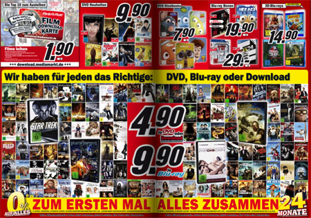 neuer media markt prospekt blu rays f r 9 90 eur. Black Bedroom Furniture Sets. Home Design Ideas